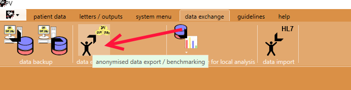 How to export SWEET-DPV data